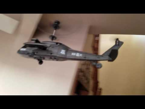 Toy grade black ops helicopter