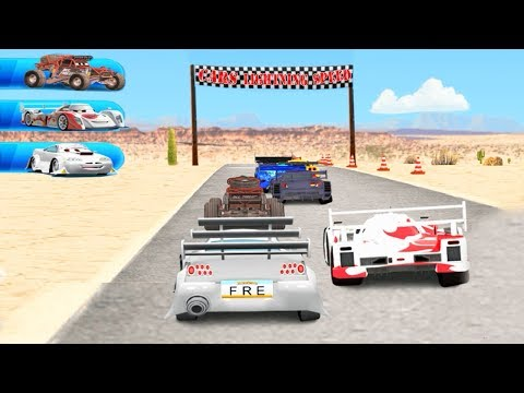 Cars Race Online Lightning Speed Games