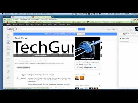 Youtube Tutorial - How To Change Your YouTube Username (2012) With Google+