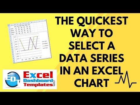 The Quickest Way to Select a Data Series in an Excel Chart
