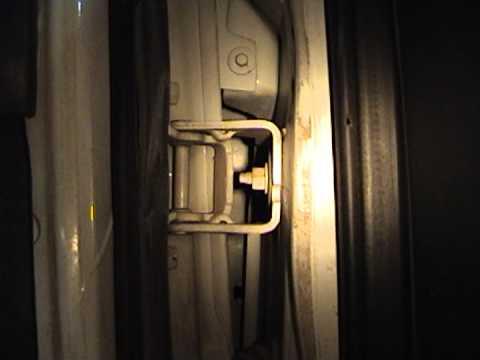 Ford E350 Door Frame Crack Of DOOM