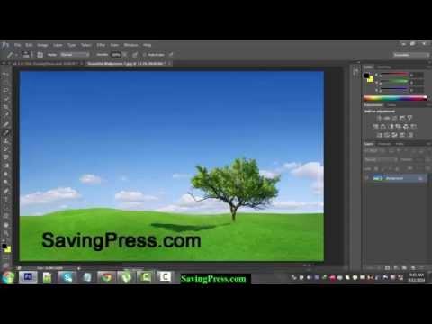 How To Create Watermark in Photoshop CS6