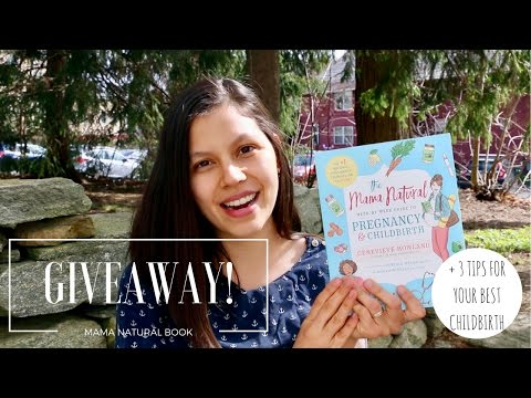 GIVEAWAY! + 3 Tips For Preparing Body, Mind & Spirit for Childbirth!