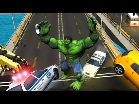 Incredible Monster Big Man Fighting Hero - Incredible Hulk Game - Android Gameplay HD