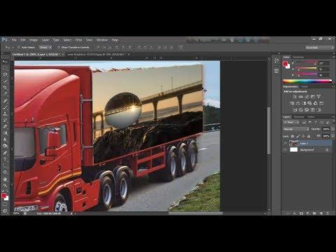 vanishing point Filter In Adobe Photoshop CS6