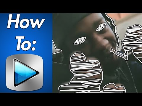 How To: Scribble Music Video Effect In Sony Vegas (Easy)