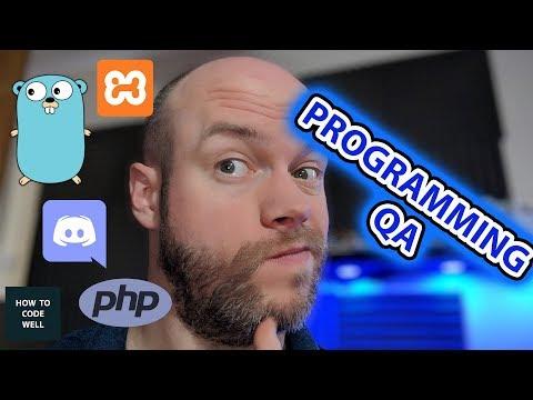 May 2018 Programming QA