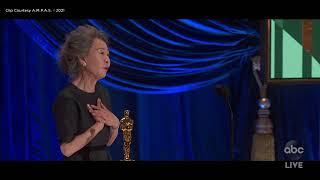 Oscars 2021: Yuh-Jung Youn wins Best Supporting Actress, first-ever Korean actor to win Oscar| ABC7
