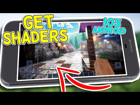 How to Get Shaders in Minecraft Pocket Edition 1.0.3+! iOS Android!
