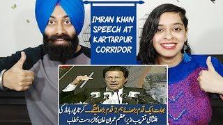 PM Imran Khan speech at Kartarpur Border Opening Ceremony | 28 Nov 2018 | Indian Reaction