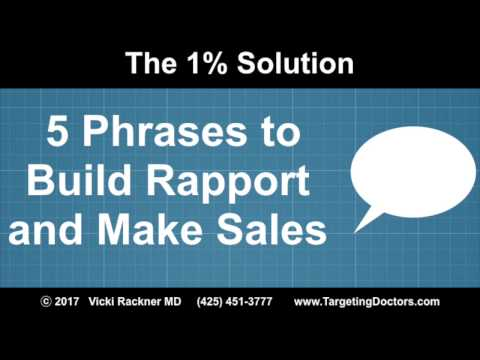 5 Phrases the Build Rapport