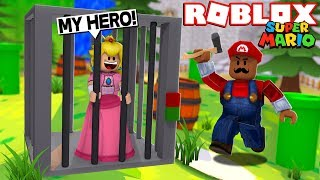 SAVING PRINCESS PEACH!! | Roblox Super Mario Roleplay