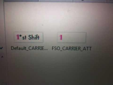 Make custom Carrier logo on 3.0