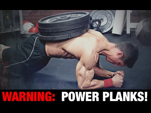 PLANK POWER-UPS! (6 Ways to Make Ab Planks Harder)