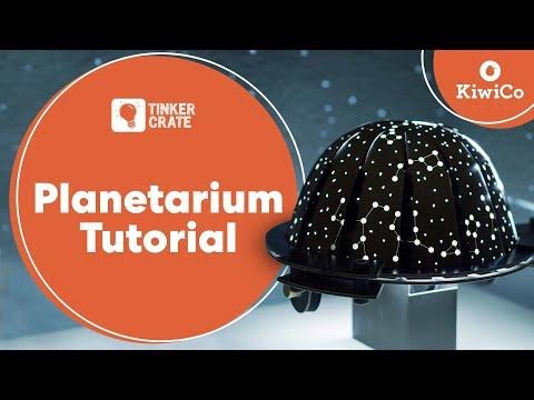 Create a Light-Up Planetarium
