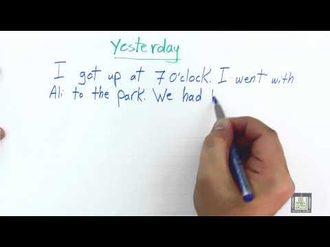WRITING - Writing Descriptive Paragraph I