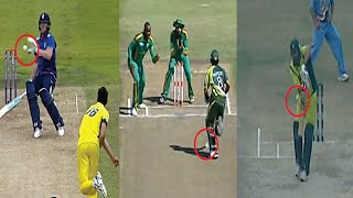 9 Batsman Rare Out in the Cricket History || Out of Obstructing the field