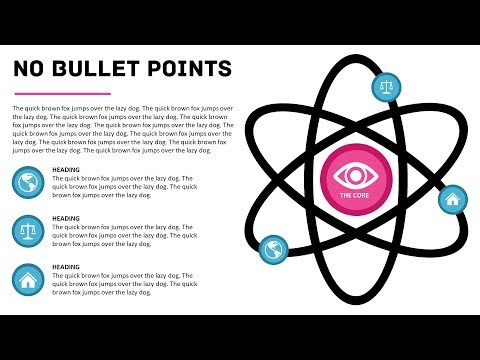 Say No to Bullet Points, Make This Atom PowerPoint Slide Instead