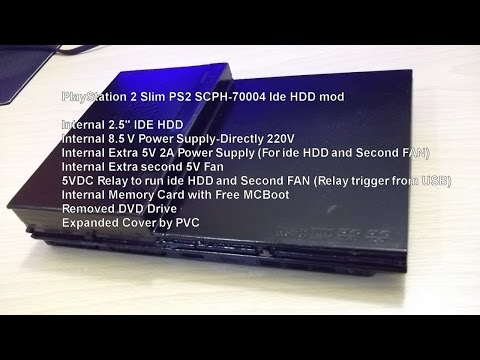 how to softmod a ps2 slim
