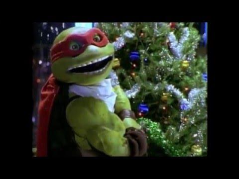 TURTLE CHRISTMAS 4: SPLINTER AND RAPHAEL BULLY HOMELESS KIDS