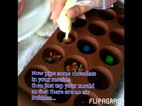 How to make Molded Chocolate | JasLoveBaking