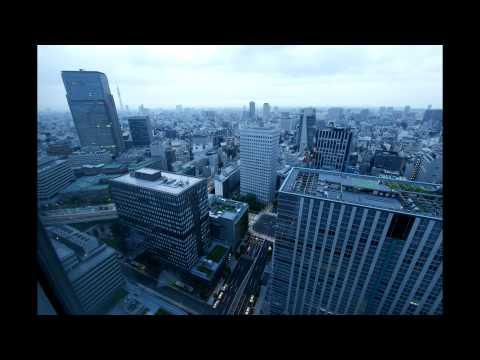 Dawn in Tokyo from Hotel Metropolitan Marunouchi 29th Floor