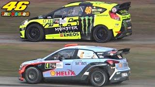 Valentino Rossi Vs. Daniel Sordo - 2016 Monza Rally Show