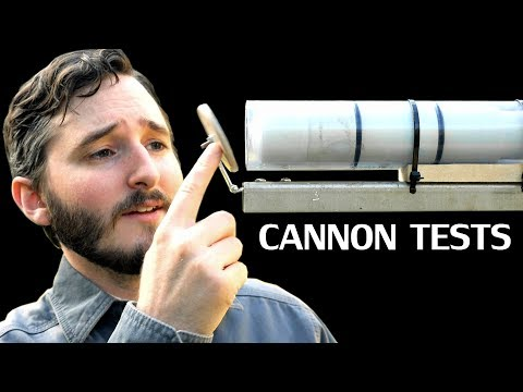 Firing A Clear Vacuum Cannon & Testing Viewer Suggestions