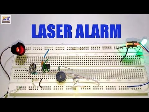 How To Make Laser Alarm With 555 IC