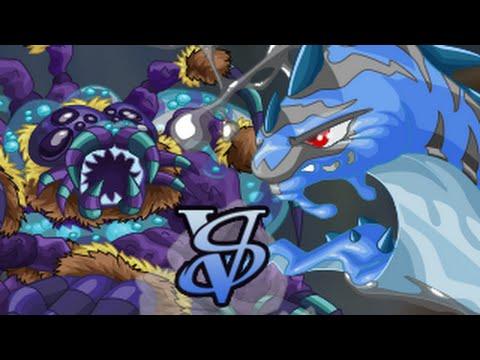 Miscrits Showdown #52: Dark Spinnerette vs. Dark Nanaslug