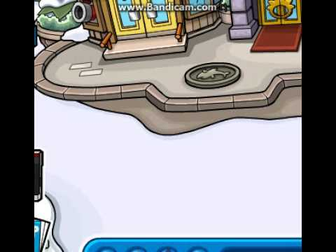 Club Penguin - How to get a golden puffle - Part 1