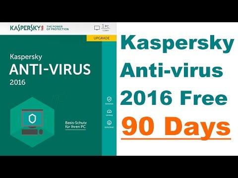 Kaspersky Antivirus 2016 Free Trial 90 Days Download   PCTips ©