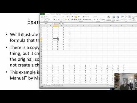 Array Formulas in Excel