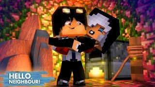 Minecraft HELLO NEIGHBOR - O WIIZINHO SALVOU A MIA DO HEROBRINE | EP 28