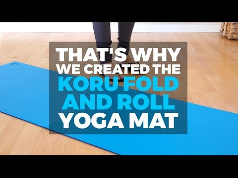 Why a Fold and Roll Yoga Mat?
