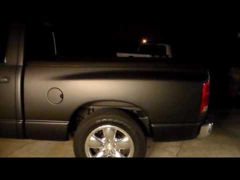 Plasti Dip 06 Dodge Ram Black