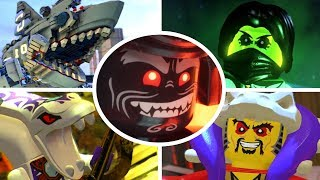 The LEGO Ninjago Movie Videogame - All Bosses