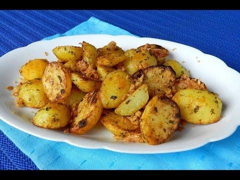 EASY ROAST POTATO How To Make Roasted Potatoes With Crispy Onion Recipe Video