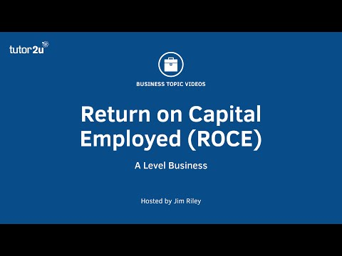 Ratio Analysis: Return on Capital Employed (ROCE)