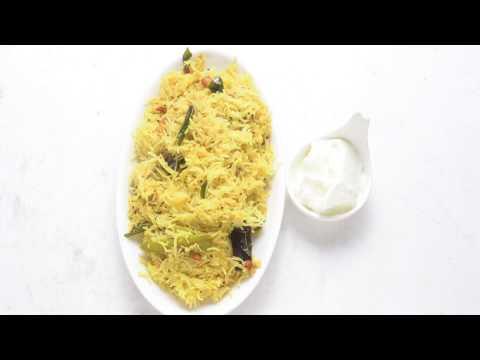 Rice Semiya Pulihora / RICE சேமியா  புளியோதரை-TAMIL