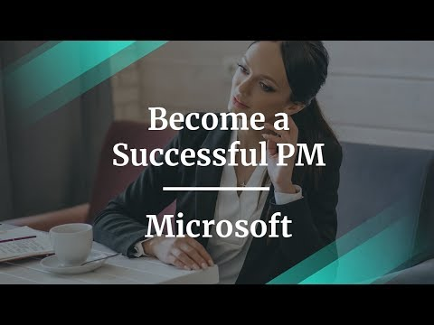How to Become a Successful Product Manager by fmr Microsoft PM