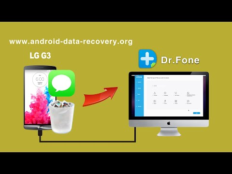 [LG G3 SMS Recovery]: How to Recover Deleted SMS Text Messages from LG G3 on Mac