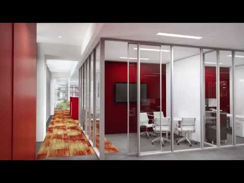 ExxonMobil Campus - Architectural Animation, The Woodlands, Texas