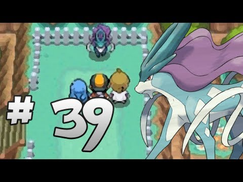 Let's Play Pokemon: HeartGold - Part 39 - SUICUNE