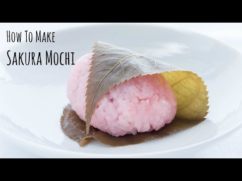 How to Make Sakura Mochi (Recipe) 桜餅の作り方(レシピ)