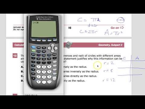 Question 12 - Geometry - TNReady Practice Test
