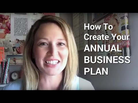 How To Create Your Annual Business Plan