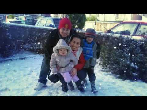White Christmas in Ireland throwback 2009