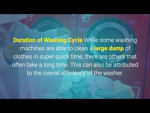 how to choose the best washer machine