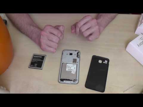 Samsung Galaxy J3 6 (2016): How to insert the SIM card. And which size is required?